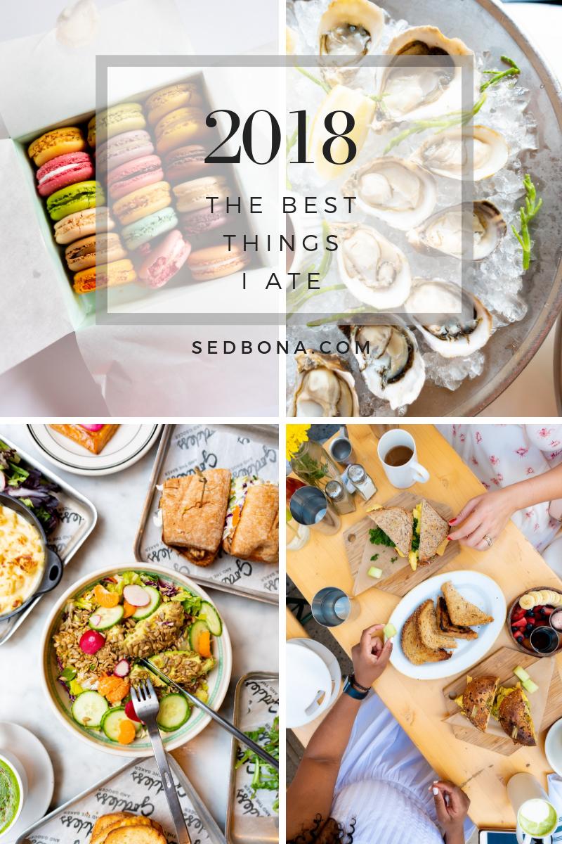 2018 Best Things Ate