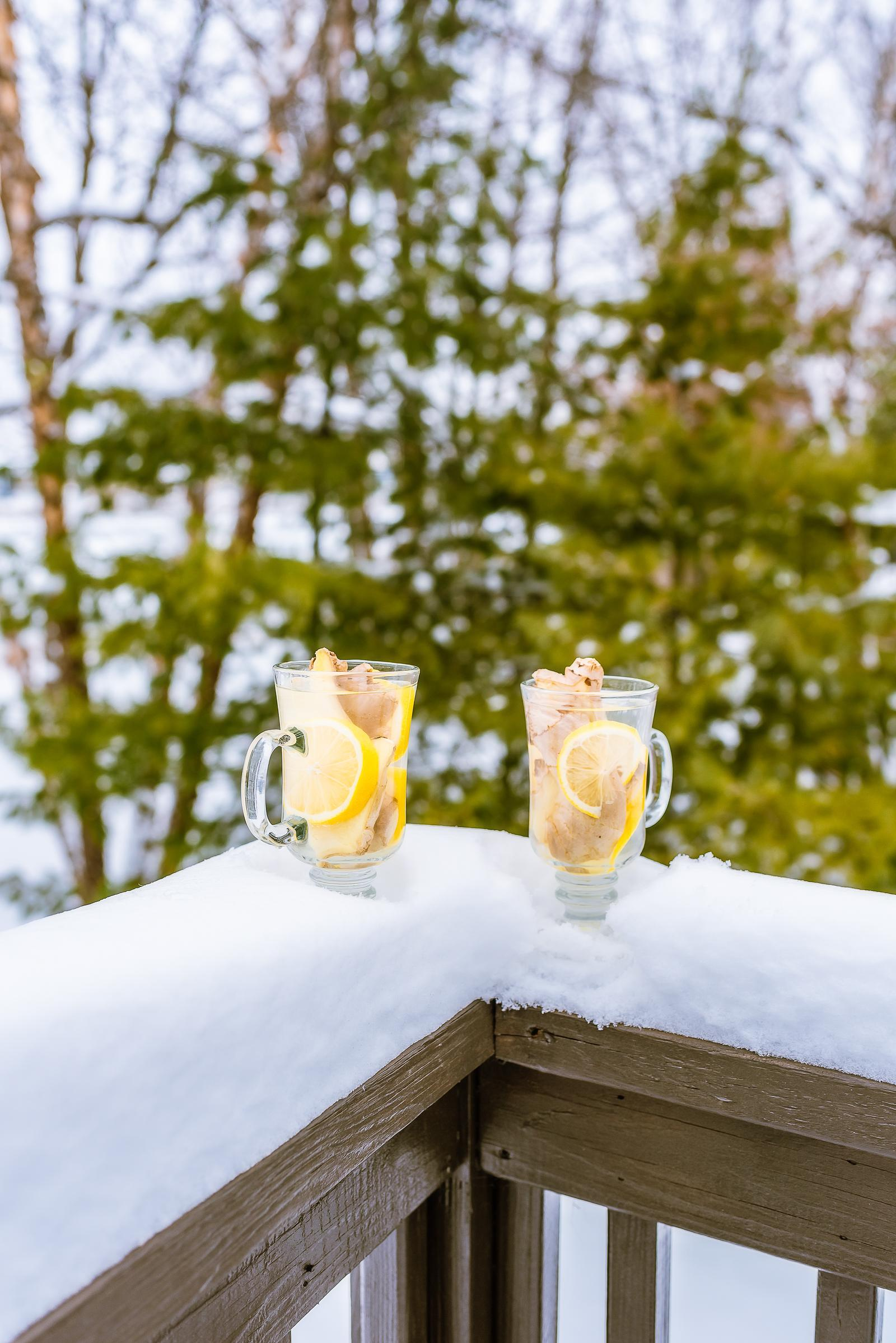 Lemon Ginger Winter Tonic Recipe