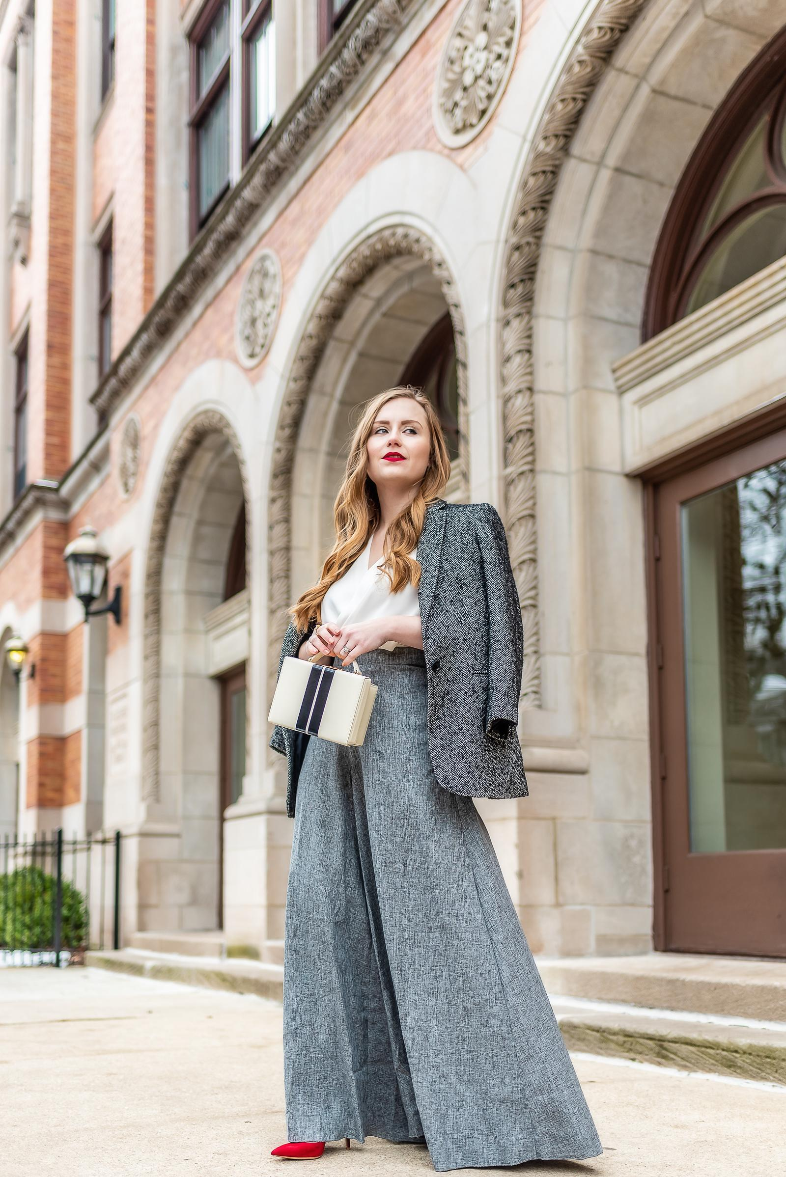 Mark Cross Grace Bag Retro Outfit