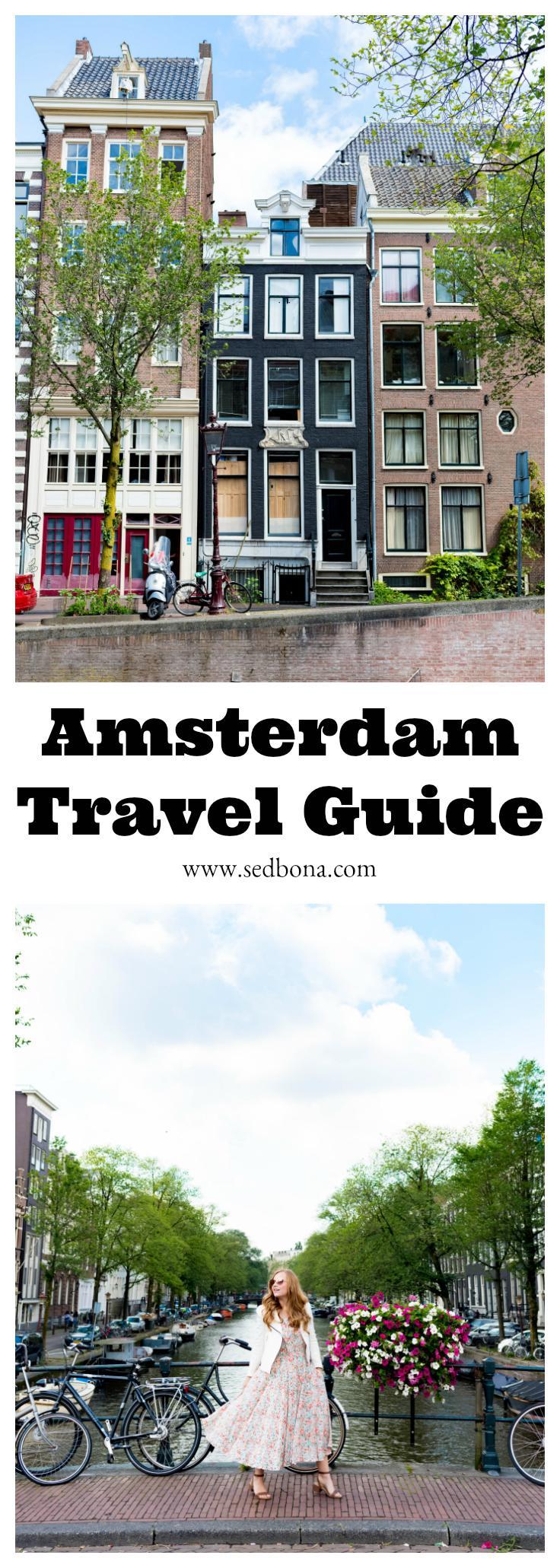 Amsterdam Travel Guide Sed Bona