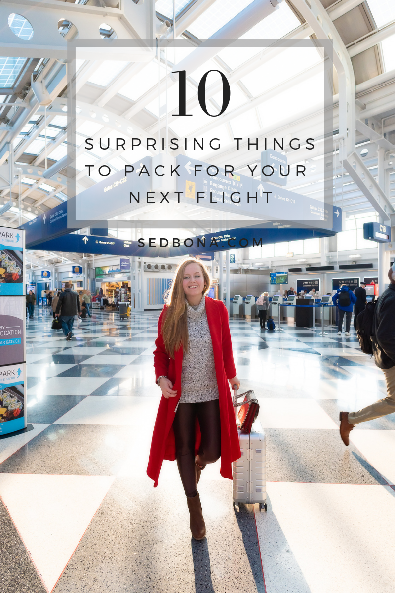10 Surprising Things To Pack For Your Next Flight