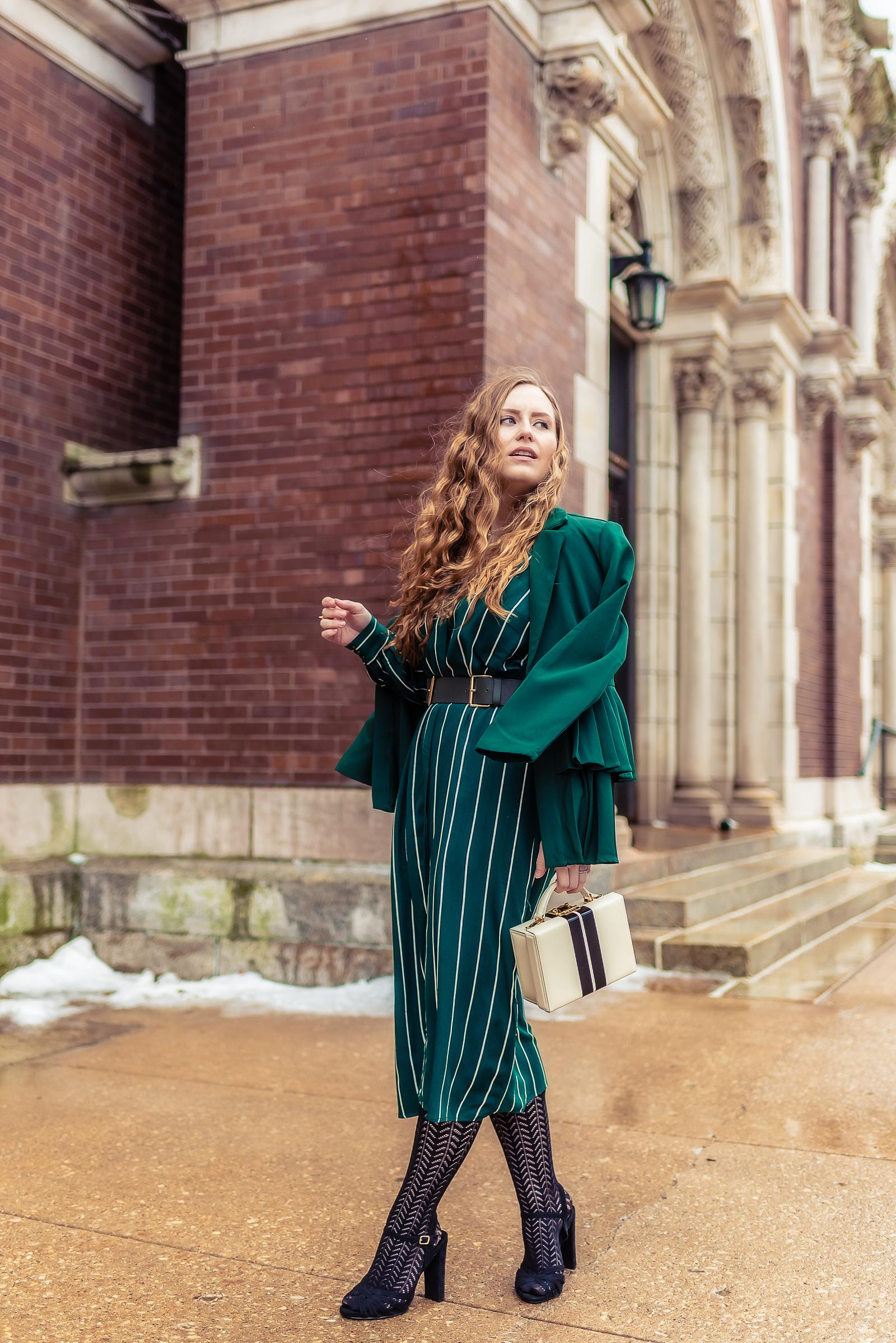 Green Monochrome Outfit for St. Patrick's Day