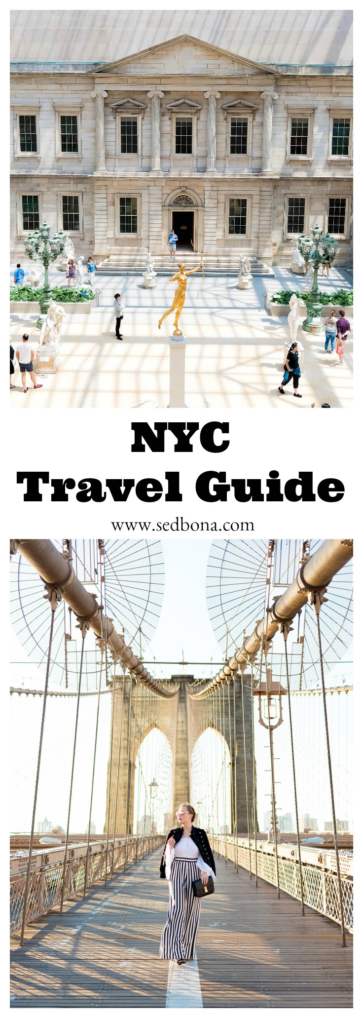 NYC Travel Guide Sed Bona