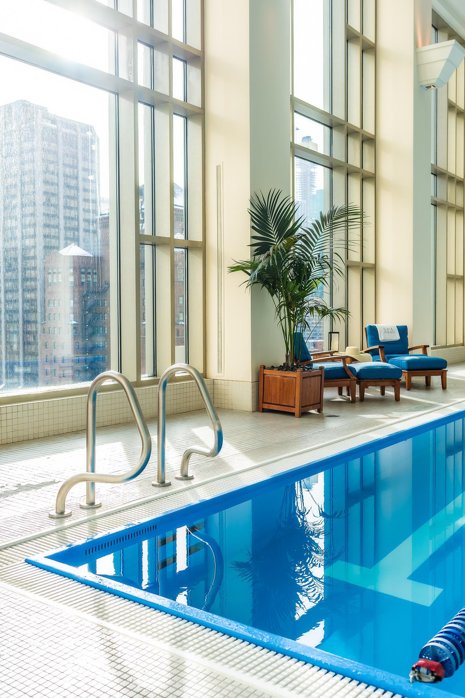Peninsula Chicago Hotel Pool Review