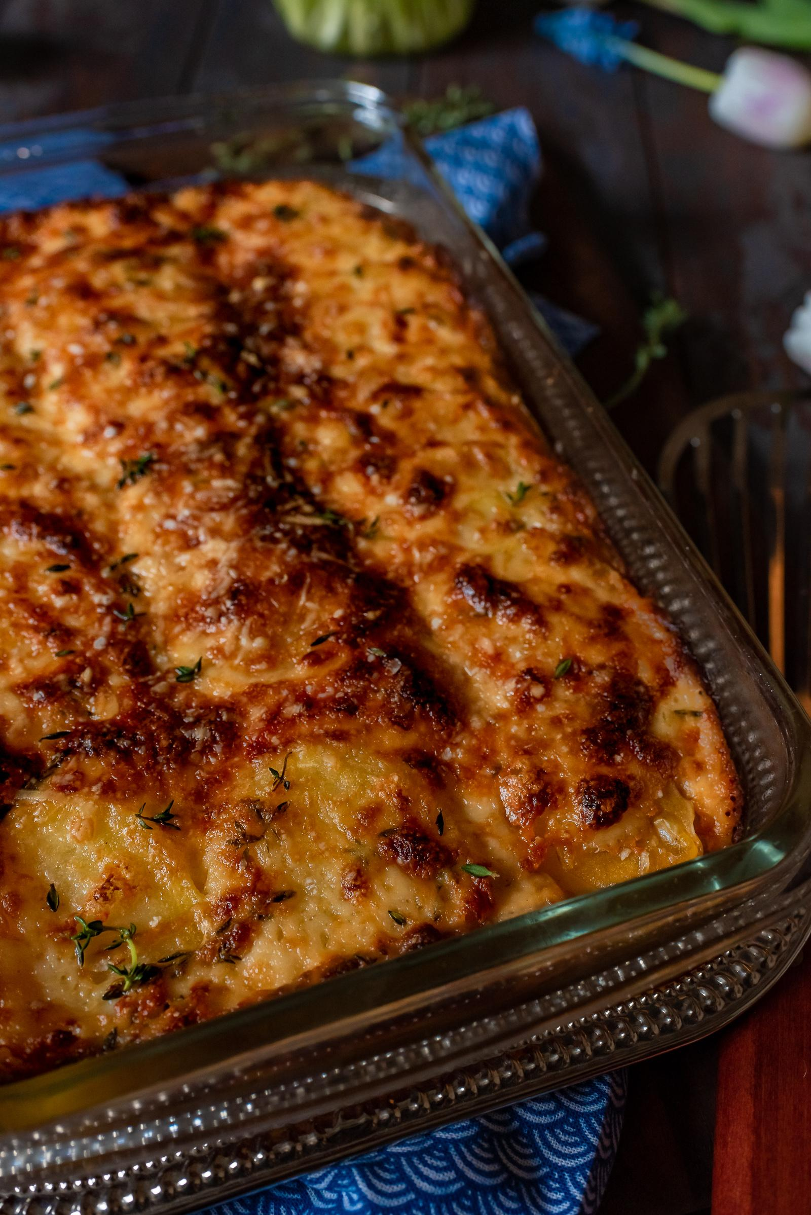 Potatoes Au Gratin Easter Recipe