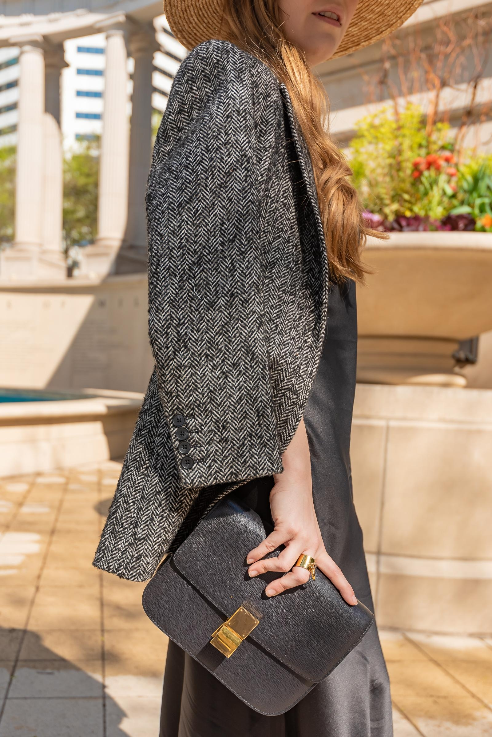 Black Silk Spring Outfit