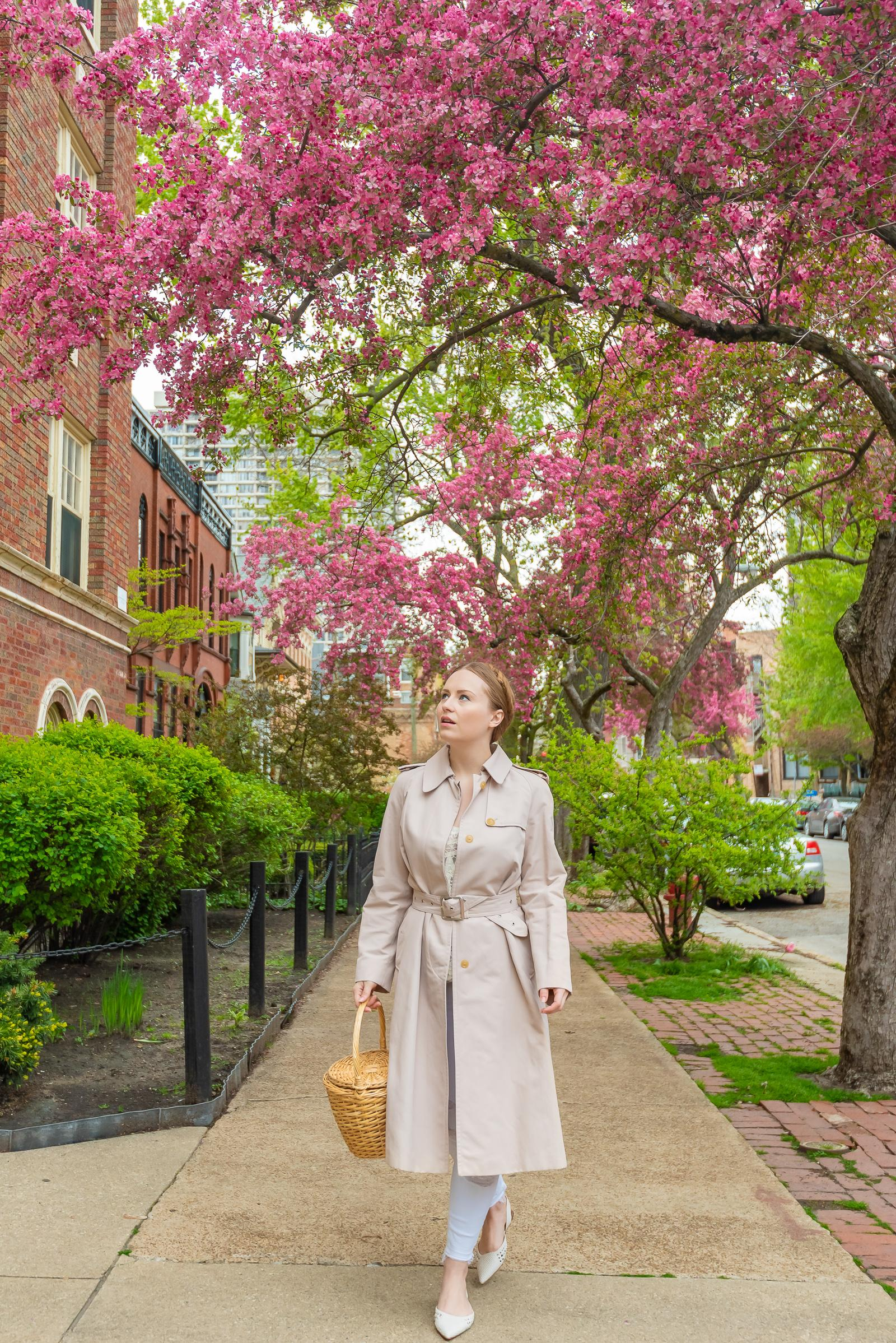 Maxmara Trench Coat Spring Outfit
