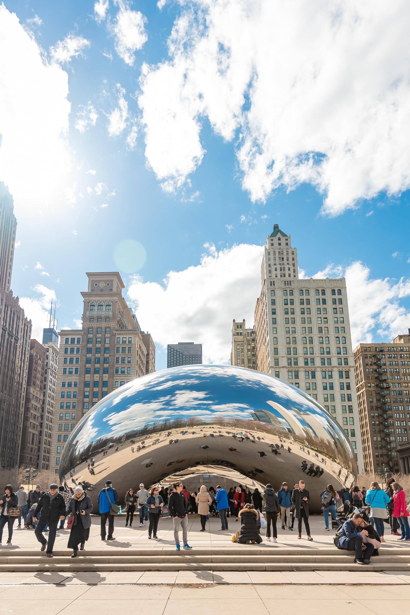 Chicago Cloud Gate Bean