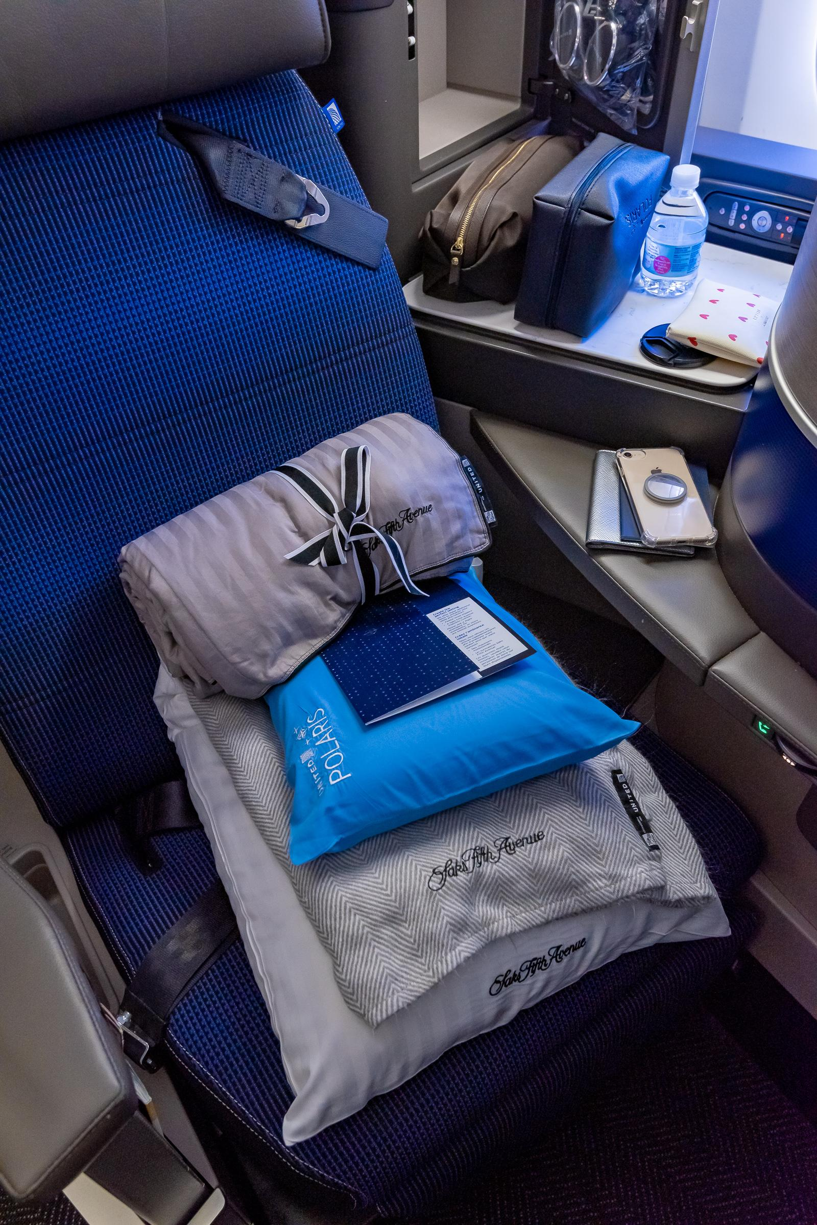 United Polaris International Business Class