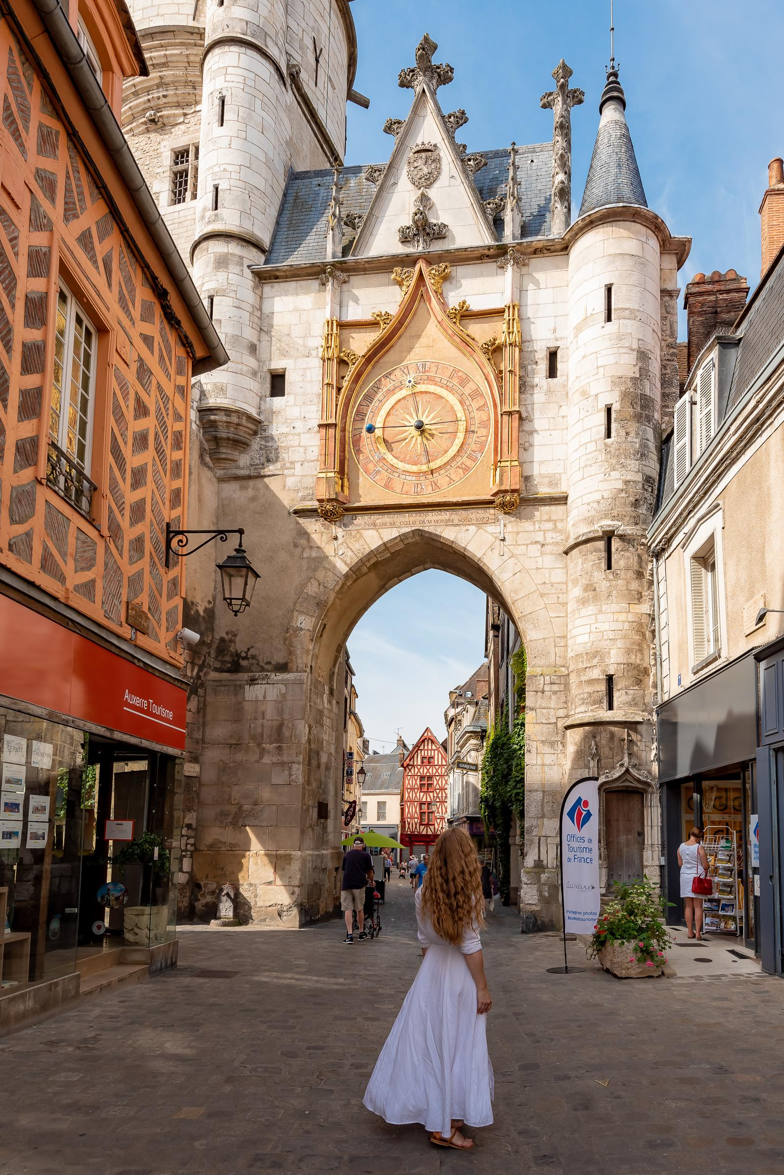 Auxerre Burgundy France